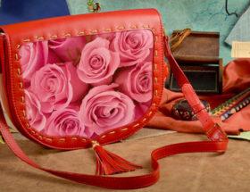 кожаная сумка женская в подарок