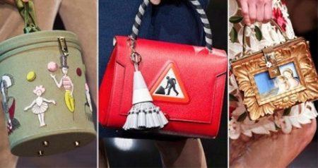 Классические сумки на цепочке в стиле Коко Шанель