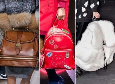 модель модной сумки