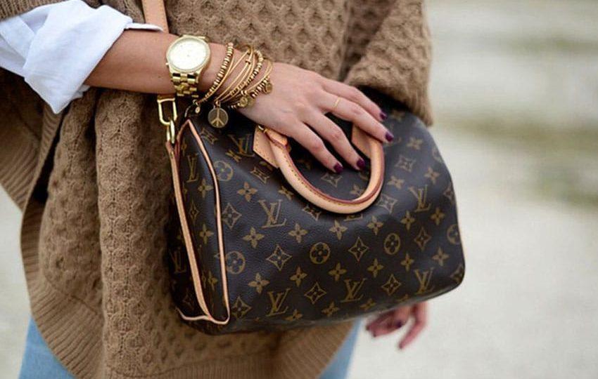 Женская сумка от легендарного бренда Louis Vuitton Speedy