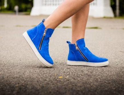 Женские ботинки для прогулок