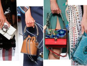 Яркие женские сумочки