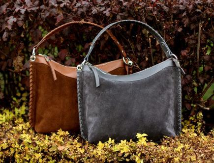 особенности замшевых сумок